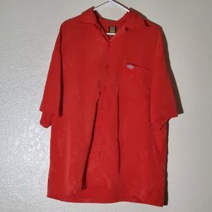 Dickies red polo shirt